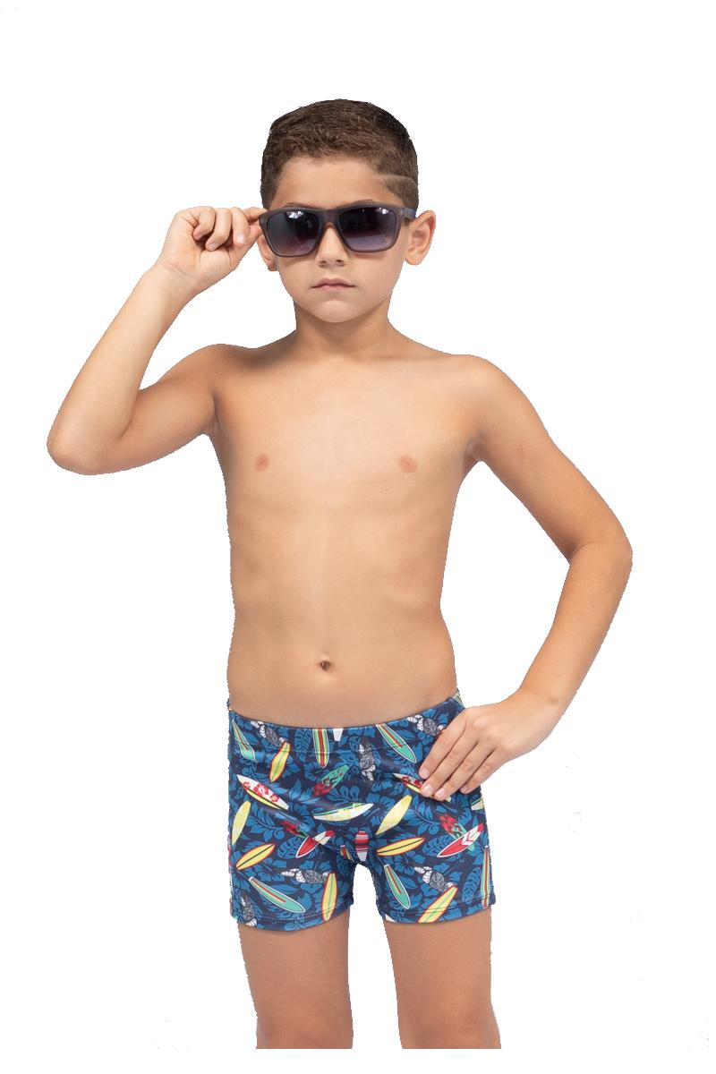 Sunga infantil juvenil boxer shortinho